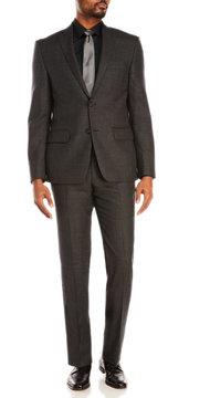 DKNY Black Dominic Wool Suit Jacket & Pants