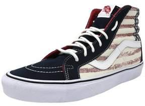 Vans Unisex Sk8-Hi Reissue Americana Sneakers Blue M4.5 W6