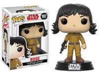 Disney Rose Pop! Vinyl Bobble-Head Figure by Funko - Star Wars: The Last Jedi