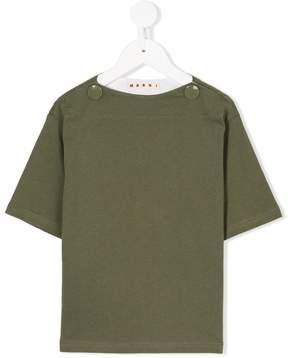 Marni boat neck T-shirt