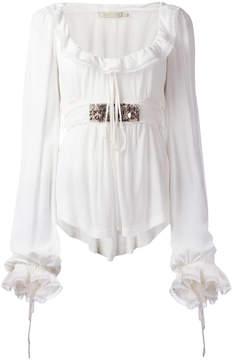 Amen frilled blouse