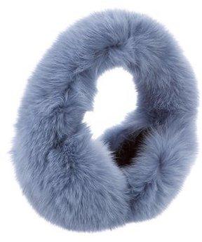 Glamourpuss Fox Fur Earmuffs w/ Tags