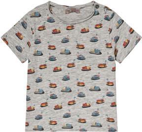 Emile et Ida Grey Auto All Over Print T-Shirt