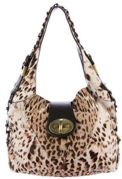 Stuart Weitzman Ponyhair Shoulder Bag