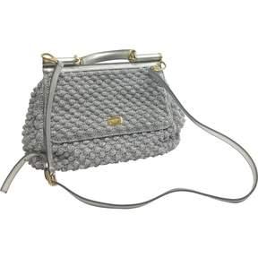Dolce & Gabbana Sicily handbag - SILVER - STYLE