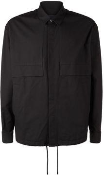 Juun.J Drawstring Overshirt Jacket