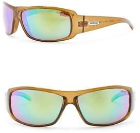 Revo Gunner Polarized 66mm Wrap Sunglasses