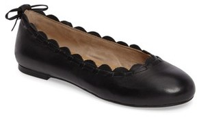 Jack Rogers Women's Lucie Scalloped Flat