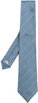Loewe stitching checks tie