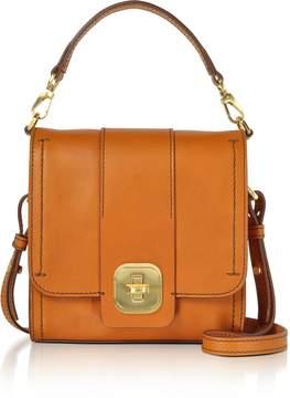 The Bridge Genuine Leather Top Handle Crossbody Bag