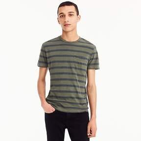 J.Crew Garment-dyed T-shirt in harbor stripe