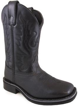 Crocs Smoky Mountain Boy's Outlaw Leather Cowboy Boot