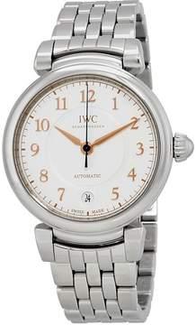 IWC Da Vinci Silver Dial Automatic Men's Steel Watch