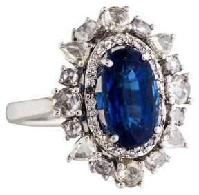 Amrapali 18K Kyanite & Diamond Cocktail Ring