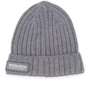 Woolrich Kids ribbed beanie