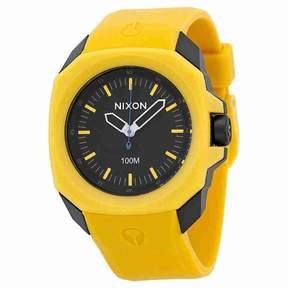 Nixon Ruckus Watch Yellow/Black, One Size