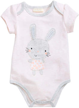 First Impressions Bunny Bodysuit, Baby Girls, Created for Macy's