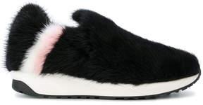 Joshua Sanders textured loafers