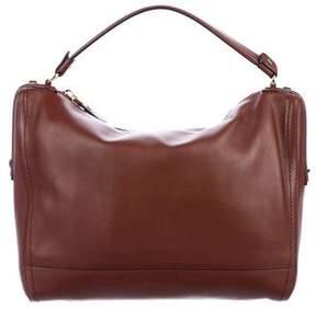 Salvatore Ferragamo Smooth Leather Satchel