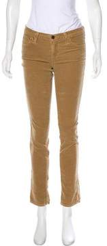 Adriano Goldschmied Corduroy Mid-Rise Jeans