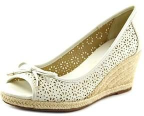 Liz Claiborne Bimini Women Open Toe Synthetic Wedge Sandal.