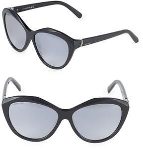 Swarovski Women's 58MM Butterfly Sunglasses