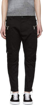 DSQUARED2 Black Sexy Cargo Pants