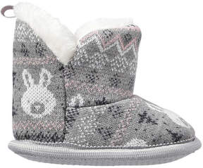 Joe Fresh Baby Girls' Slipper Boots, Grey (Size L)