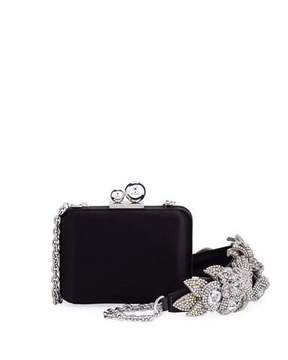 Sophia Webster Vivi Lilico Satin Box Clutch Bag