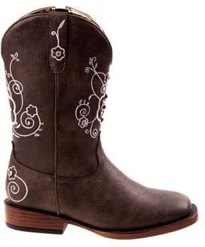 Nanette Lepore Kids' Square Toe Cowboy Boot Pre/Grade School