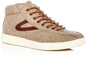 Tretorn Men's Nylite Wool Mid Top Sneakers