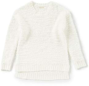 Copper Key Big Girls 7-16 Soft-Slub Sweater
