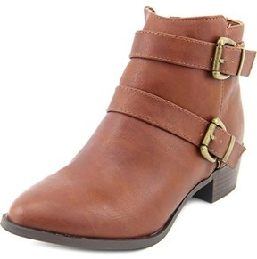 Material Girl Cady Women Round Toe Synthetic Bootie.