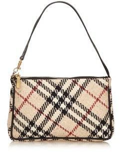 Burberry Pre-owned: Plaid Wool Handbag. - BROWN X BEIGE X MULTI - STYLE