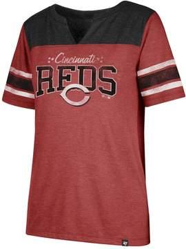 '47 Women's Cincinnati Reds Match Tri-Blend Tee