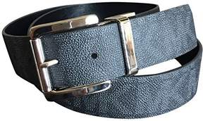 Michael Kors MICHAEL Logo Reversible Belt Black L