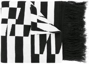 Off-White Optical scarf