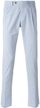 Barba tapered tailored trousers