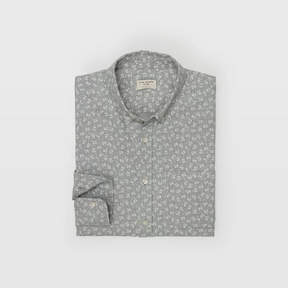 Club Monaco Flannel Floral Shirt
