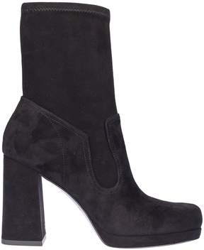 Marc Jacobs Chunky Heel Ankle Boots