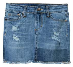 Joe's Jeans Mid Rise Stretch Denim Mini Skirt (Little Girls)