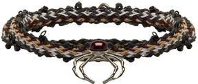 Lanvin Multicolor Spider Bracelet