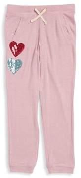Jessica Simpson Girl's Sequins Print Jogger Pants