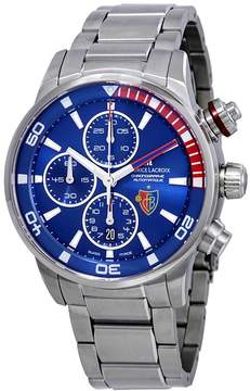 Maurice Lacroix Pontos S Chronograph Automatic Blue Dial Men's Watch