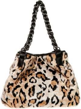 Betsey Johnson FAUX FUH TOTE