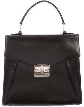 Mark Cross Leather Top Handle Satchel