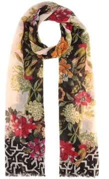 Etro Cashmere printed scarf