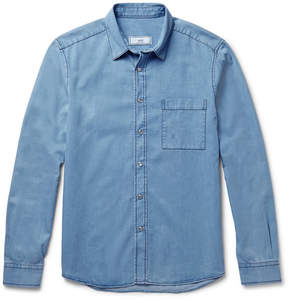 Ami Classic Slim-Fit Denim Shirt