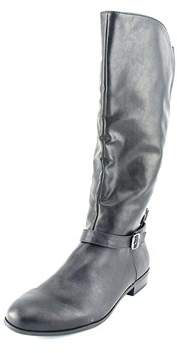 Style&Co. Style & Co. Womens Faee Round Toe Mid-calf Riding Boots.