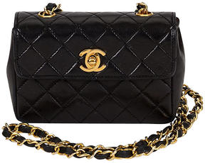 One Kings Lane Vintage 1980s Chanel Classic Mini Lambskin Bag